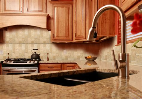 Kitchen Backsplash Travertine Stone Subway Tile Kitchen Backsplash Tile Bathroom Tile