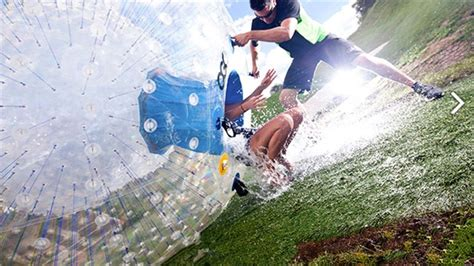 jackie chan zorb ball holleyweb news challenges for zorbing video holleyweb