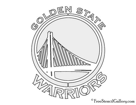 golden state warriors sign printable coloring pages