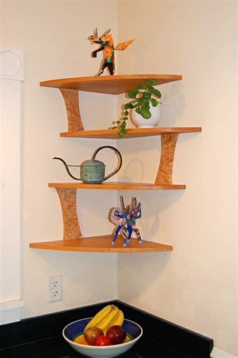 how to decorate a corner wall great suggestions for corner shelving units 20 ideas