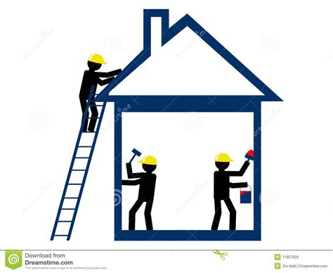 home repair stock illustration image of security