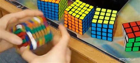 guy breaking  rubiks cube world record  insane speed