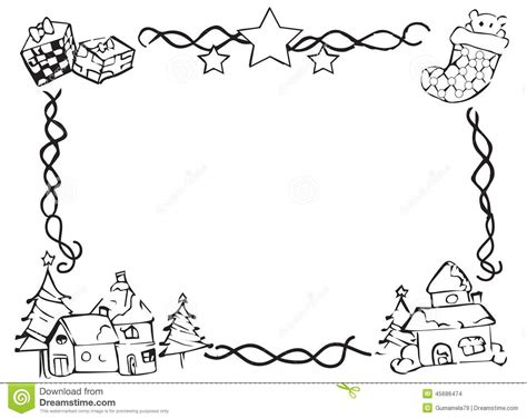 Can I Still Use A Borders Gift Card - christmas border images black and white christmas fun zone