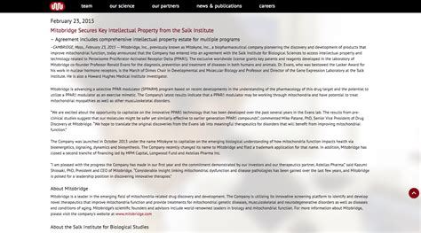 news section website design massachusetts web design company specializing in biotech
