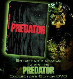 Dvd Sweepstakes - predator ce dvd sweepstakes