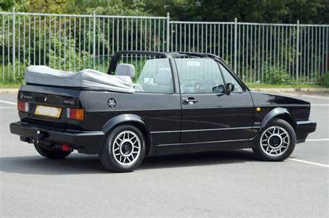 vw mk1 golf gti cabriolet black sold 1990 on car and