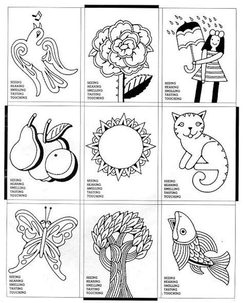 free coloring pages of senses 36 best 5 senses images on pinterest human body 5