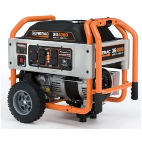 generac xg 3 600 watt gasoline powered portable generator
