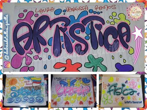 imagenes artisticas con autor y titulo como marcar cuadernos con timoteo dulcesdetallesquilla