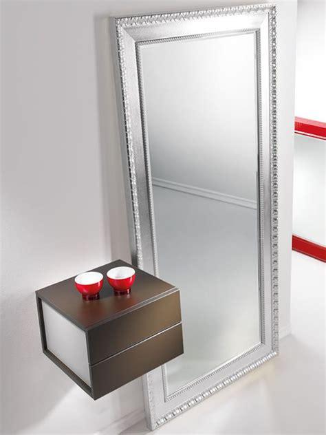 mobiletto ingresso moderno due e mobile ingresso con due cassetti e specchio