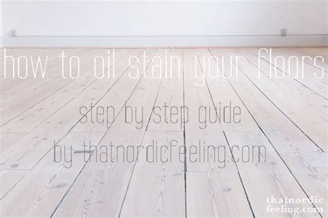 How to give your wood floors that Nordic look