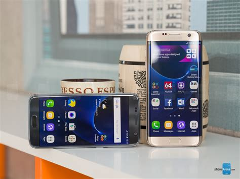 samsung edge 7 samsung galaxy s7 edge vs galaxy s7