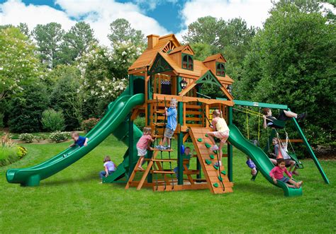 gorilla swing sets clearance lowest price gorilla malibu deluxe ii playset free