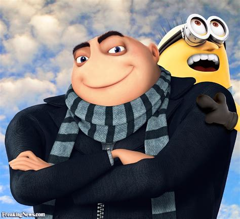 gru s minion with gru s nose pictures freaking news