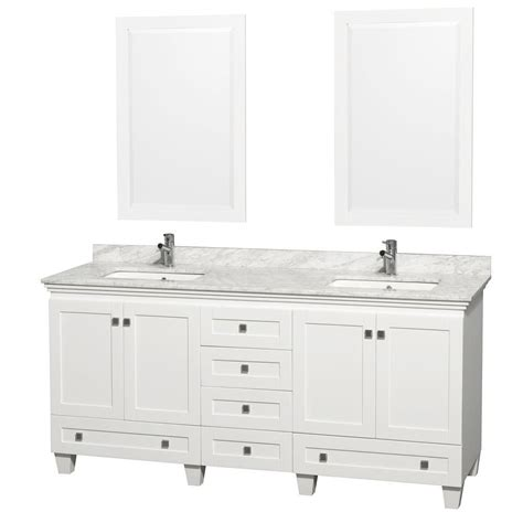 home depot 72 inch bathroom vanity wyndham collection acclaim 72 inch w double vanity in