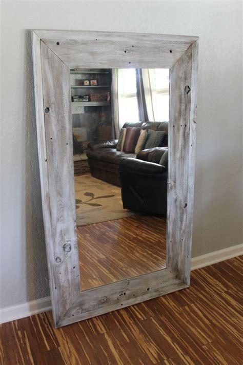 Mirror Floor L by Best 25 Wood Mirror Ideas On Wood Framed