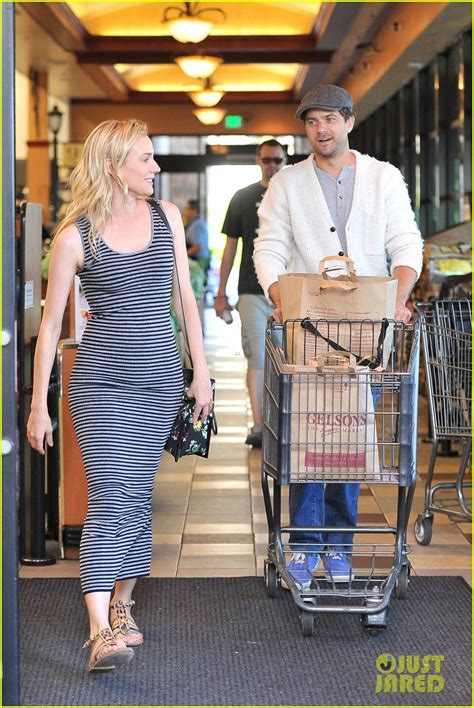 Yoshua Maxi diane kruger and tees by tina micro stripe maxi dress