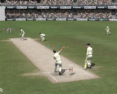 for cricket ea sports cricket 07 pc ps2 ps2 feature hexus net