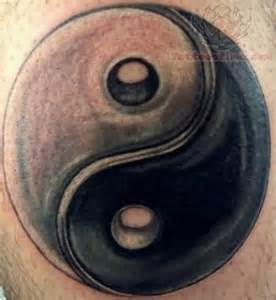 ying yang tattoo images amp designs
