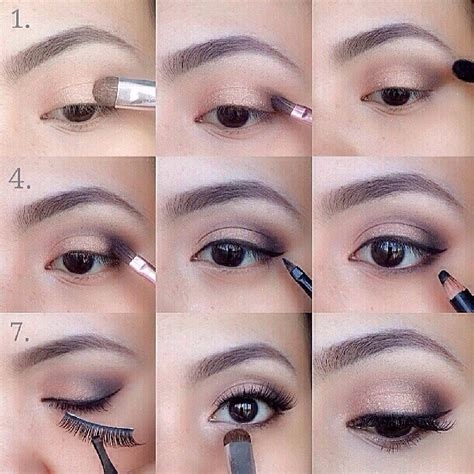 tutorial makeup basic simple eye makeup tutorial step by step trendyoutlook com