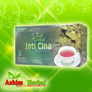 Teh Jati Cina Celup herbal pelangsing tubuh azhim herbal