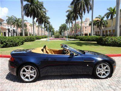 how do i learn about cars 2008 aston martin dbs navigation system find used 2008 aston martin vantage convertible in boca raton florida united states