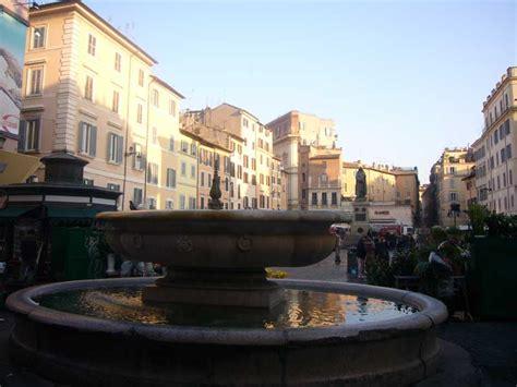 co de fiori rome co de fiori rome italian piazza architecture