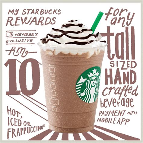 Starbucks Handcrafted Beverage - starbucks handcrafted beverage rm10 grande rm11