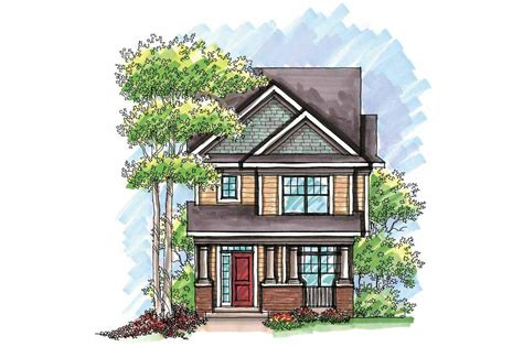 long narrow lot house plans narrow lot house plans with garage