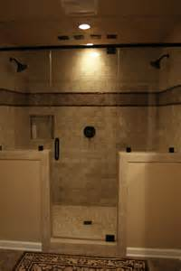 shower ideas for master bathroom can this general shower design work in a standard tub area