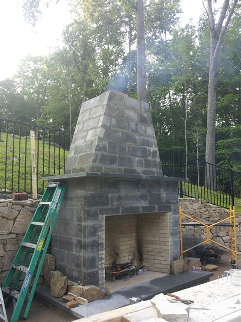 Fireplace Chimney Construction by Chimney Construction Repair Chimneys Plus Chimney