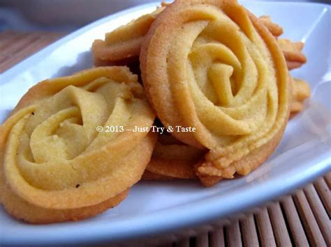 Kue Bunga Mawar cookies bunga mawar tanpa telur just try taste