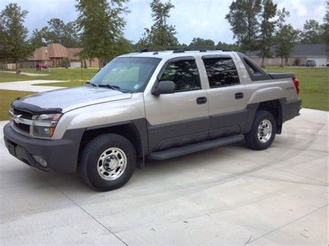 repair anti lock braking 2005 chevrolet avalanche 2500 security system buy used avalanche 2500 3 4 ton 4wd 5 door in vancleave mississippi united states for us