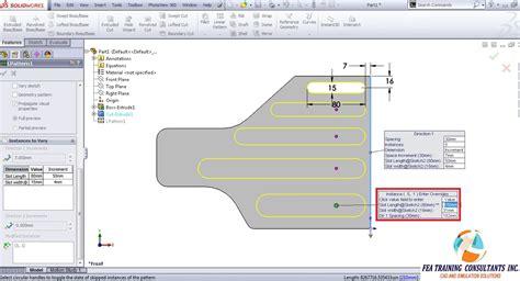 solidworks linear sketch pattern both directions solidworks technical tips solidworks videos solidworks