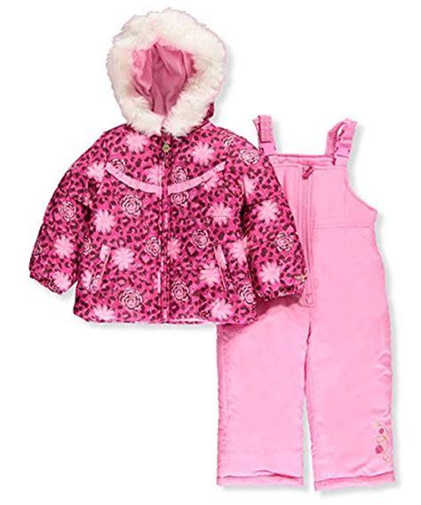 Jkt Femara Abupink fog toddler snowsuit with snowbib and puffer jacket rocket pink 4t buy