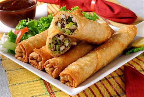 roll roll spring rolls recipe dishmaps