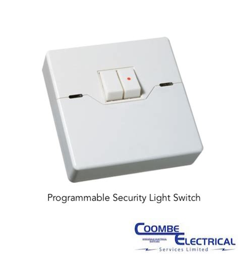 programmable light switch programmable security light switch coombe electrical