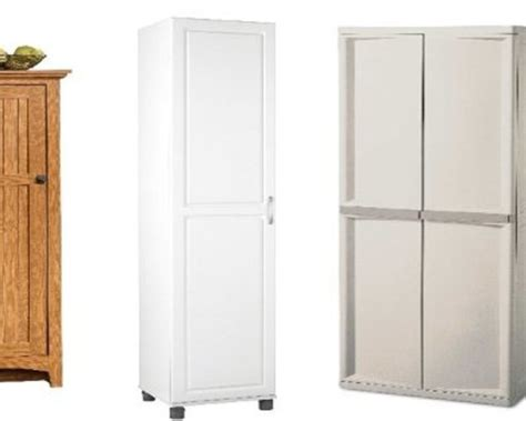 kitchen broom cabinet best free standing broom closet cabinets