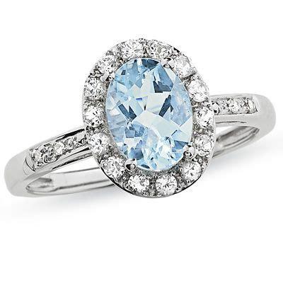 aquamarine rings zales images