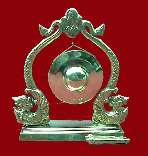 Miniatur Gong Naga Kuningan Besar souvenir