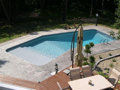 Lazy L Pool | lazy l pool outdoor pools pinterest