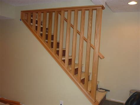 how to make a banister for stairs stair banisters ideas