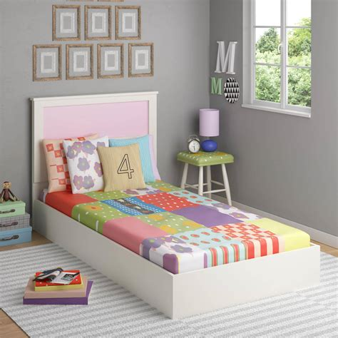 twin upholstered headboard kids kids beds headboards walmart com