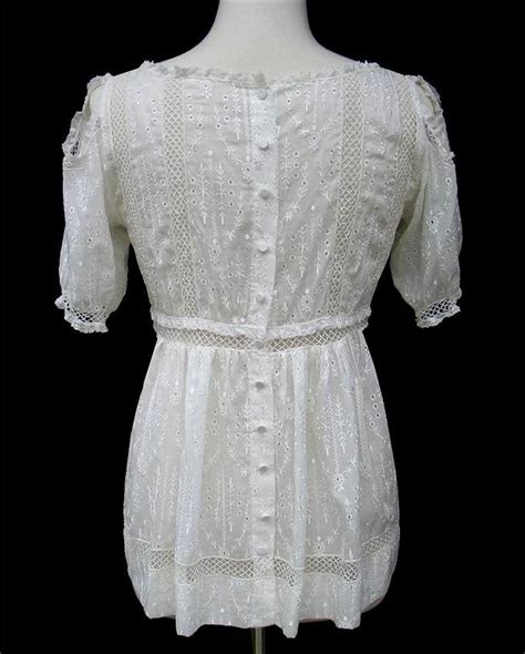 Venetta Blouse Limited bcbg max azria eyelet silk cotton voile blouse nwt large ebay