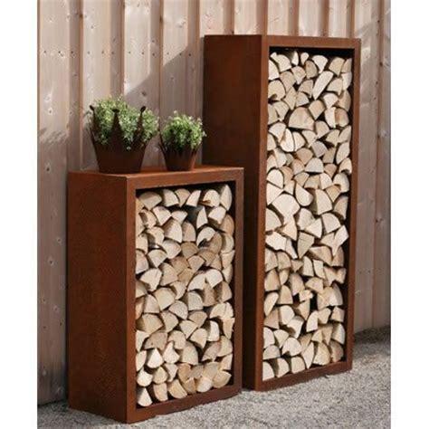 beautiful brennholz lagern ideen wohnzimmer garten ideas die 25 besten ideen zu gartendeko rost auf pinterest