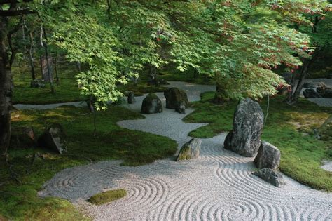 Asian Rock Garden Japanese Rock Gardens Their And Order