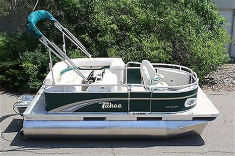 tahoe motor boat rentals new 14 ft tahoe avalon pontoon boat with motor boats