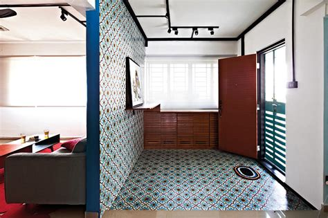 Pattern Vinyl Flooring Singapore | unconventional flooring designs home decor singapore
