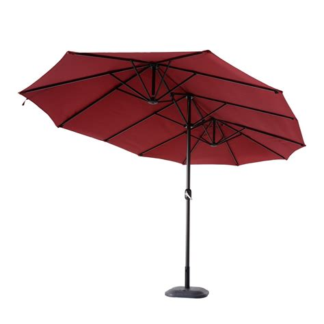 Patio Umbrella Canopy Outsunny Patio Umbrella Canopy Outdoor Sunshade W