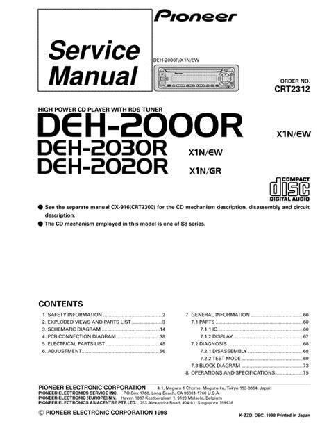 pioneer deh x3910bt wiring diagram 34 wiring diagram